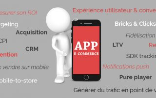 Addict Mobile - Infographie - app e-commerce