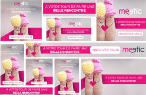 Acquisition creative Meetic